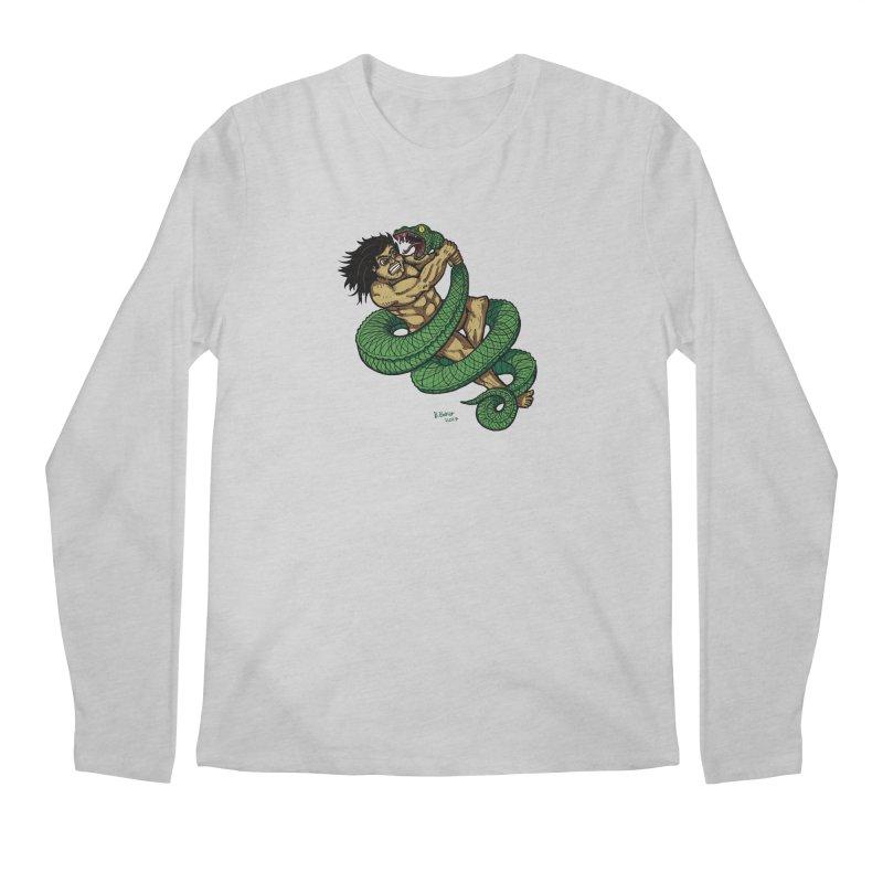 Battle Men's Longsleeve T-Shirt by Baked Goods