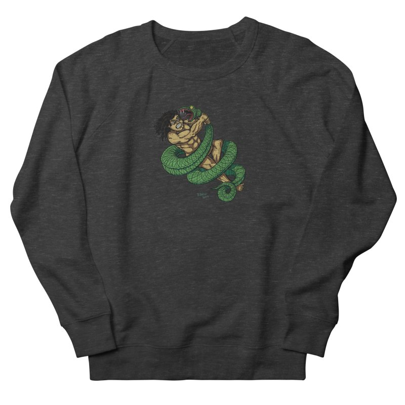 Battle Men's French Terry Sweatshirt by Baked Goods