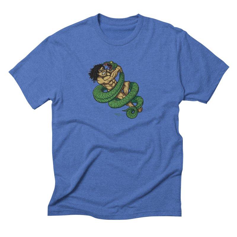 Battle Men's Triblend T-Shirt by Baked Goods