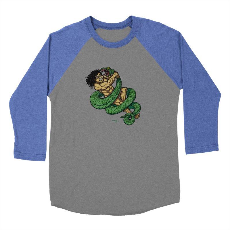 Battle Men's Baseball Triblend T-Shirt by Baked Goods