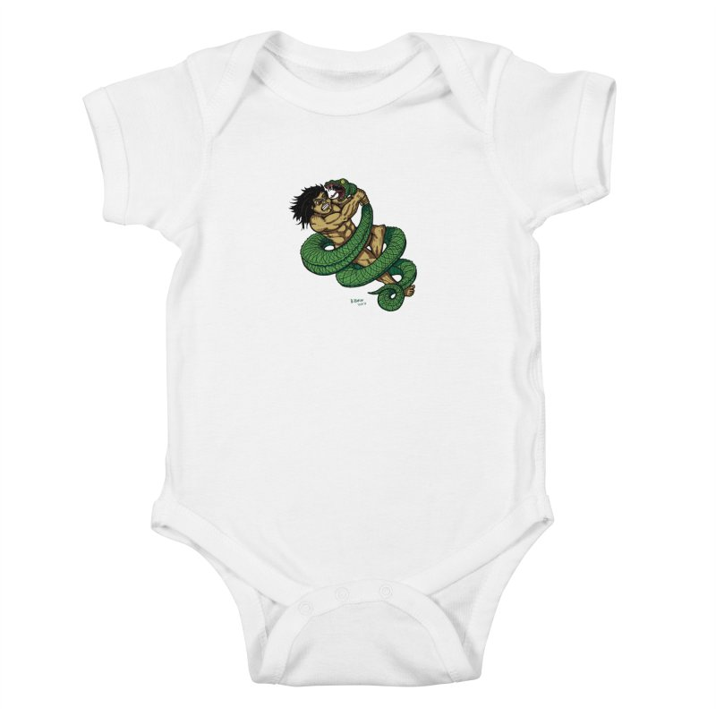 Battle Kids Baby Bodysuit by Baked Goods