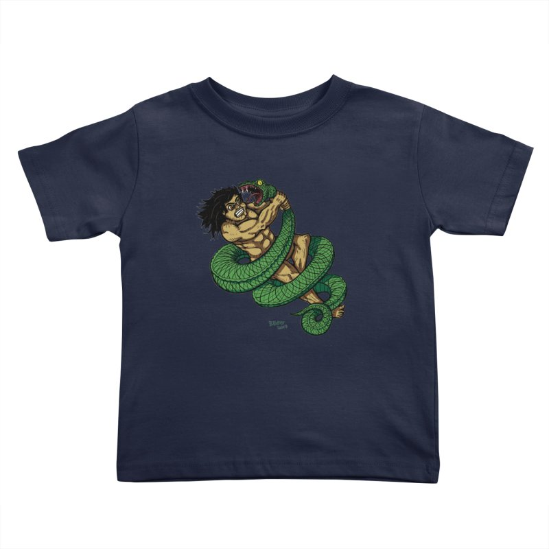 Battle Kids Toddler T-Shirt by Baked Goods