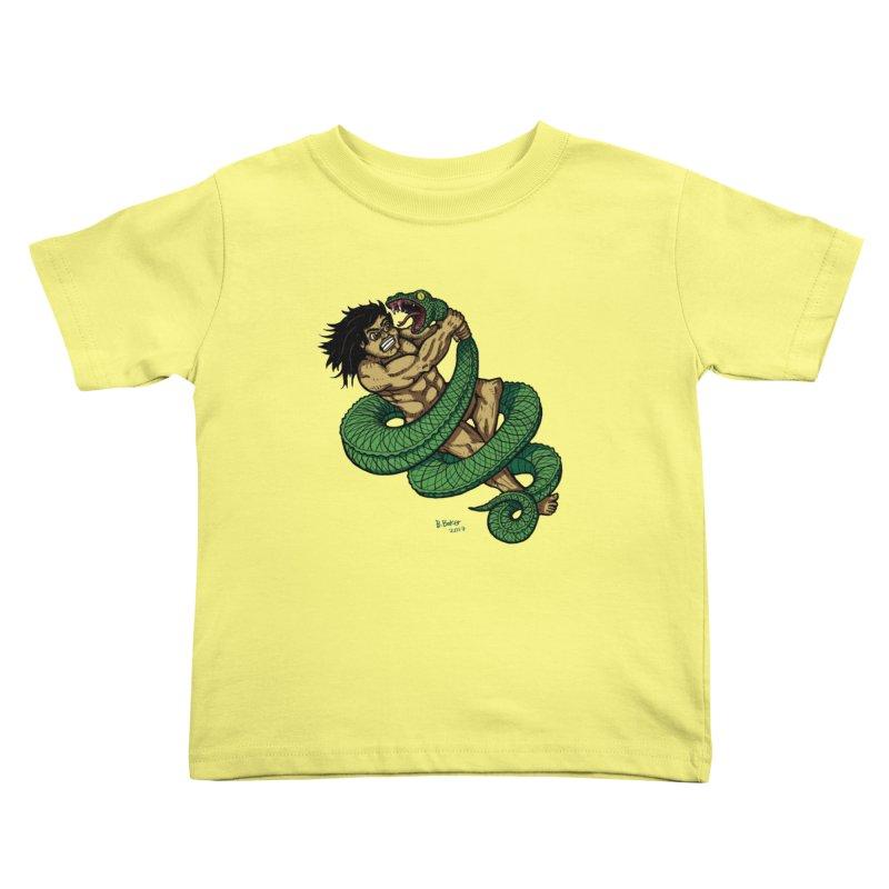 Battle Kids Toddler T-Shirt by Baked Goods