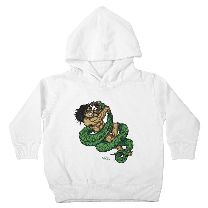 Battle Kids Toddler Pullover Hoody by Baked Goods