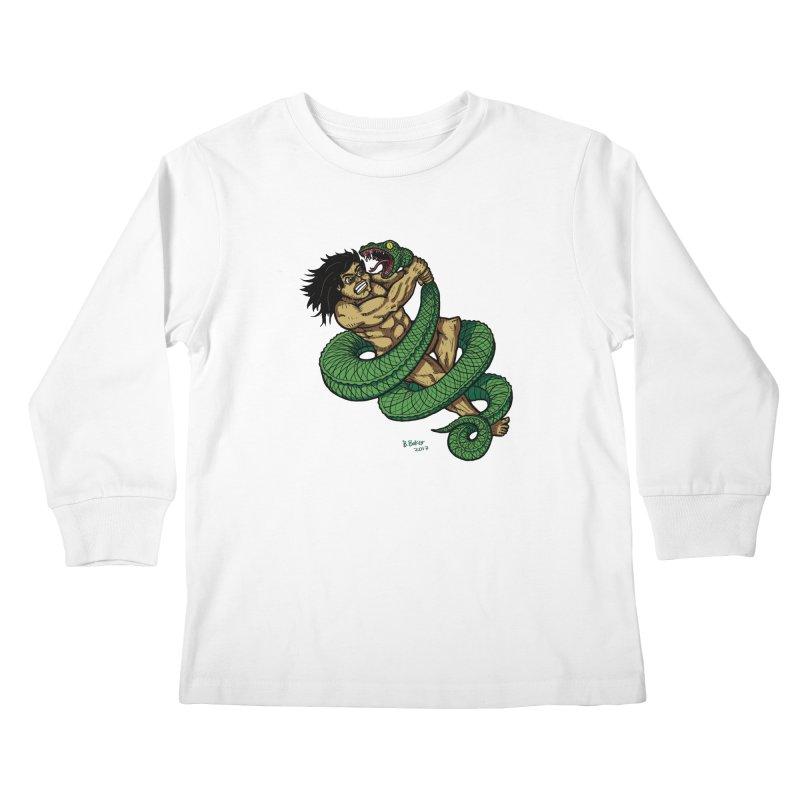 Battle Kids Longsleeve T-Shirt by Baked Goods