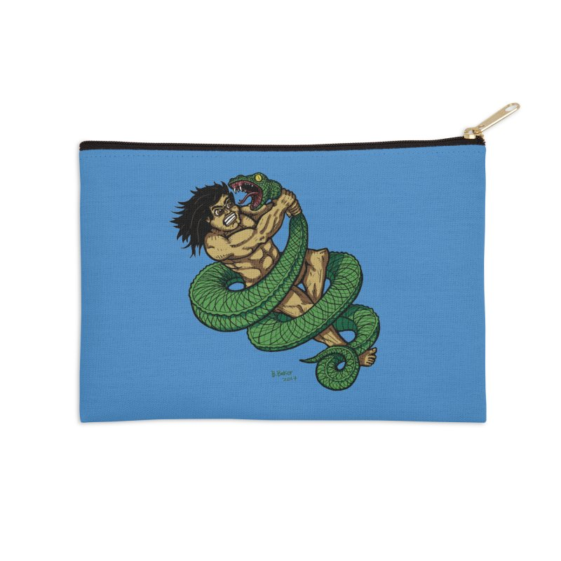 Battle Accessories Zip Pouch by Baked Goods