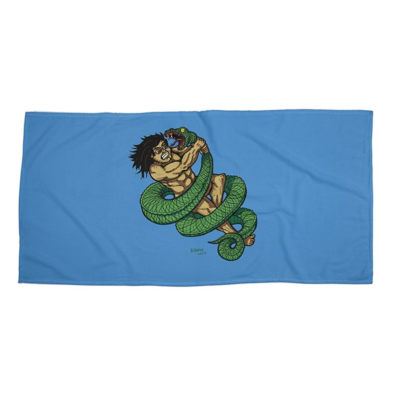 Battle Accessories Beach Towel by Baked Goods