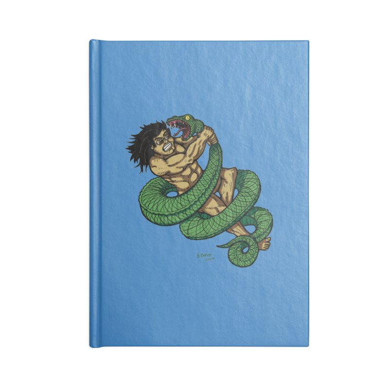 Battle Accessories Notebook by Baked Goods