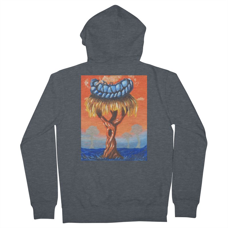 Mr. Caterpillar Men's French Terry Zip-Up Hoody by Baked Goods