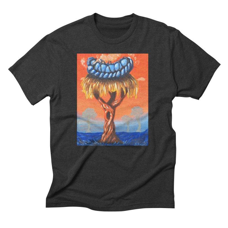 Mr. Caterpillar Men's Triblend T-Shirt by Baked Goods