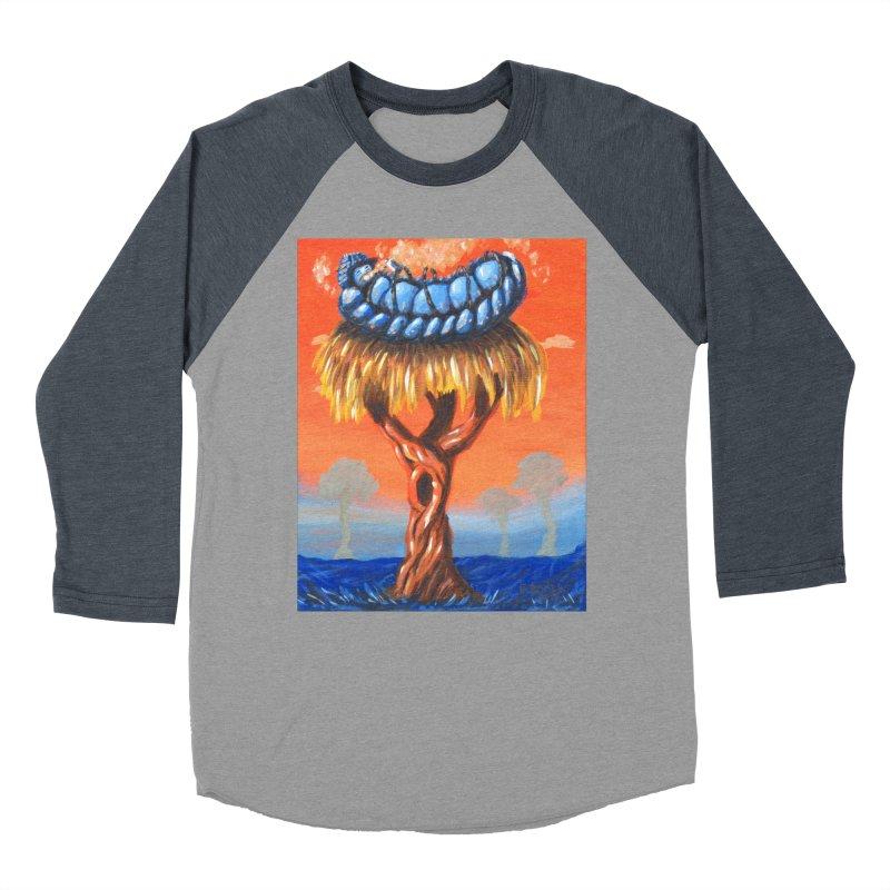 Mr. Caterpillar Women's Baseball Triblend T-Shirt by Baked Goods