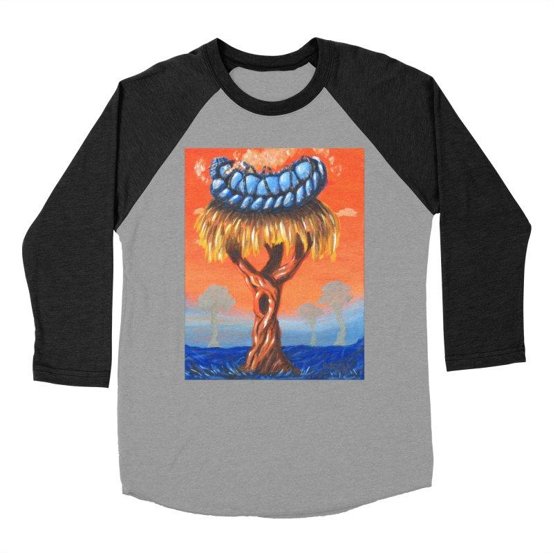 Mr. Caterpillar Men's Baseball Triblend T-Shirt by Baked Goods
