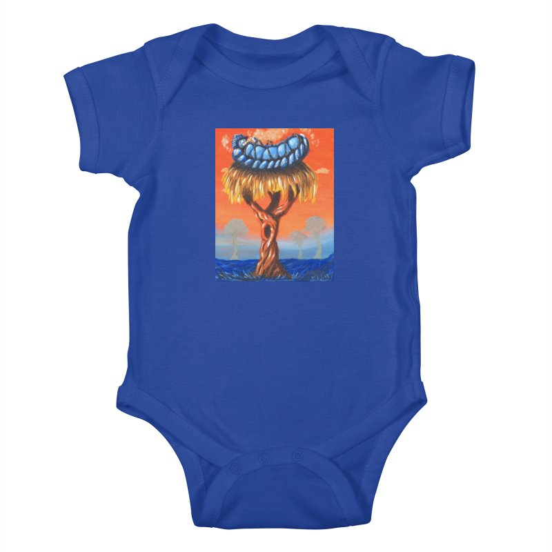 Mr. Caterpillar Kids Baby Bodysuit by Baked Goods