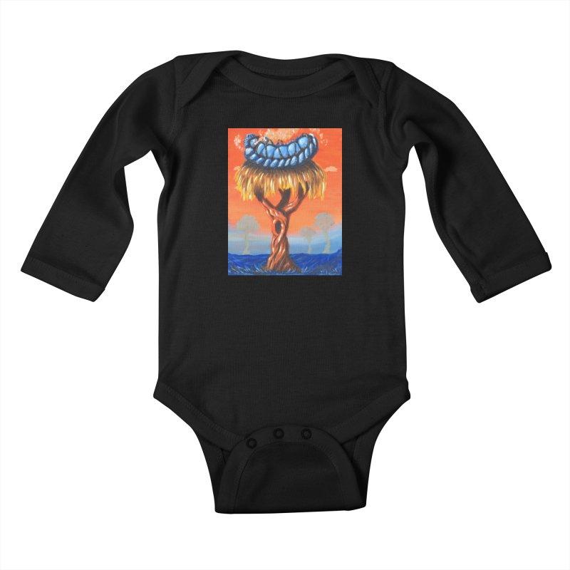 Mr. Caterpillar Kids Baby Longsleeve Bodysuit by Baked Goods