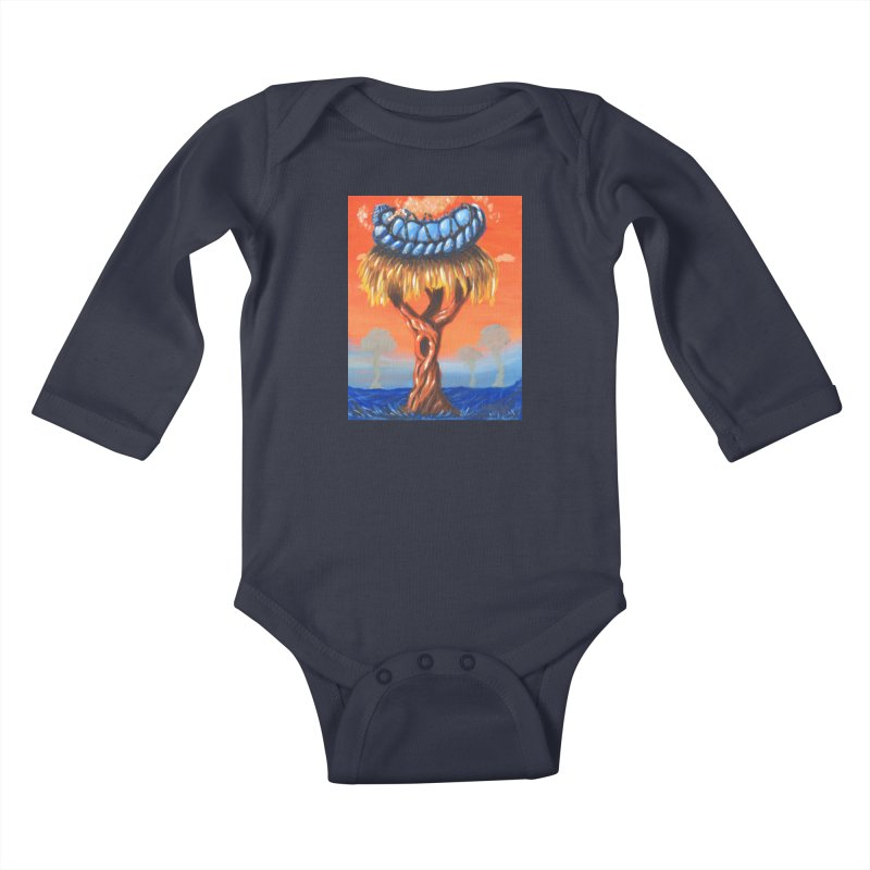 Mr. Caterpillar Kids Baby Longsleeve Bodysuit by Baked Goods