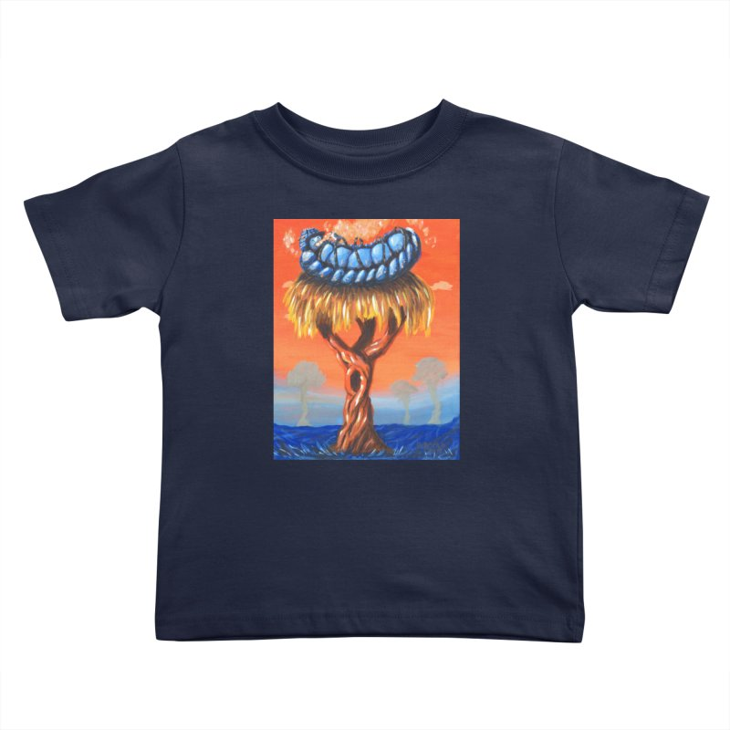 Mr. Caterpillar Kids Toddler T-Shirt by Baked Goods