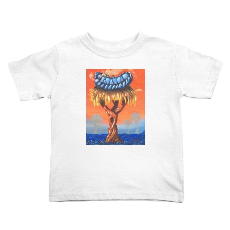 Mr. Caterpillar Kids Toddler T-Shirt by Baked Goods