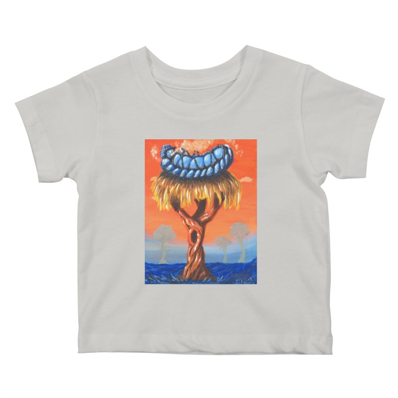 Mr. Caterpillar Kids Baby T-Shirt by Baked Goods