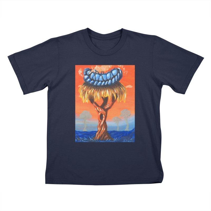 Mr. Caterpillar Kids T-shirt by Baked Goods