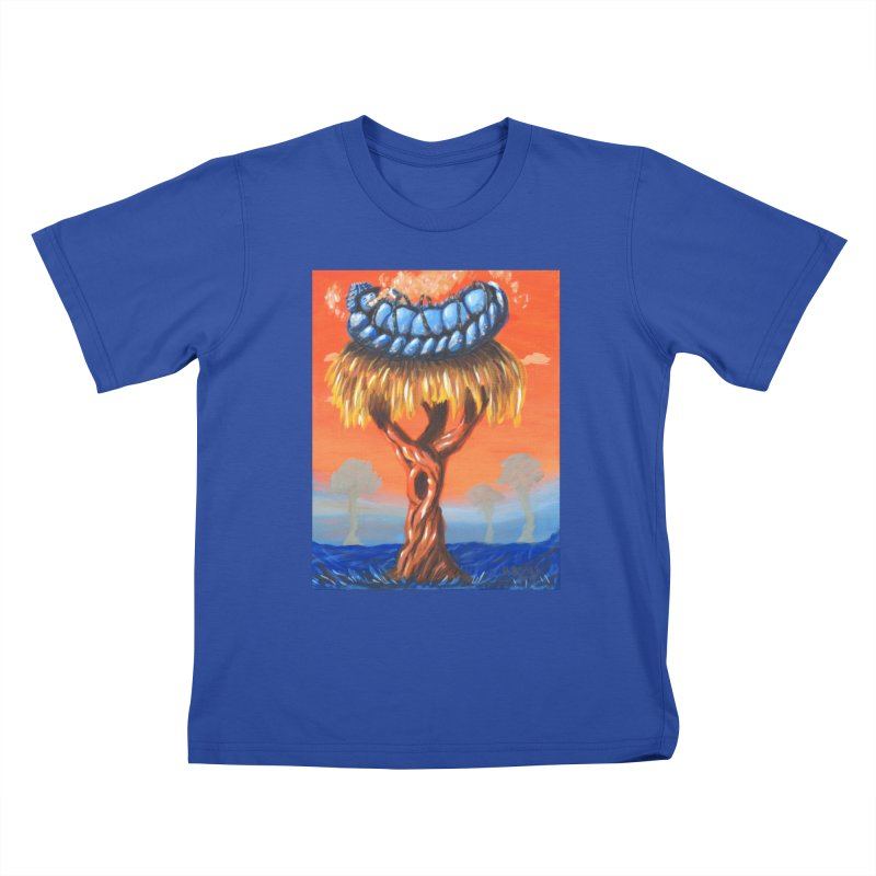 Mr. Caterpillar Kids T-Shirt by Baked Goods