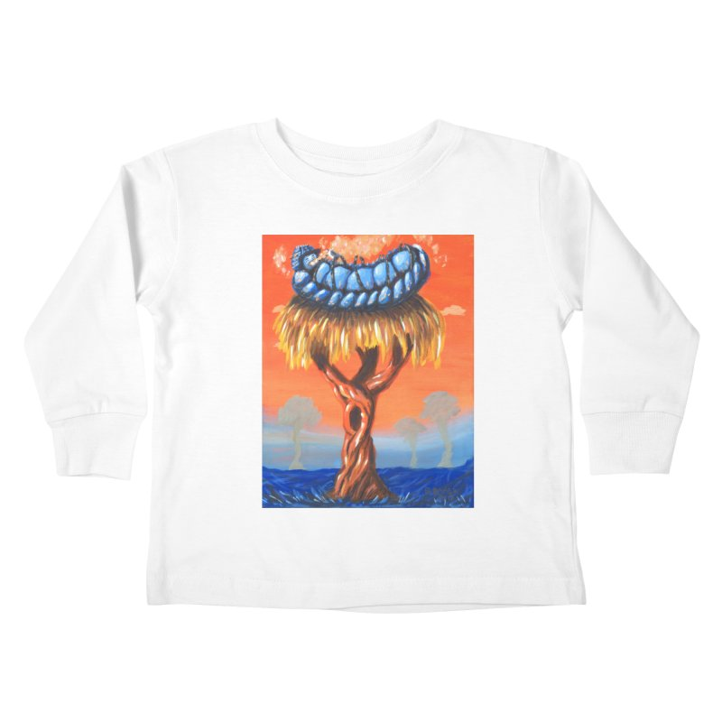 Mr. Caterpillar Kids Toddler Longsleeve T-Shirt by Baked Goods
