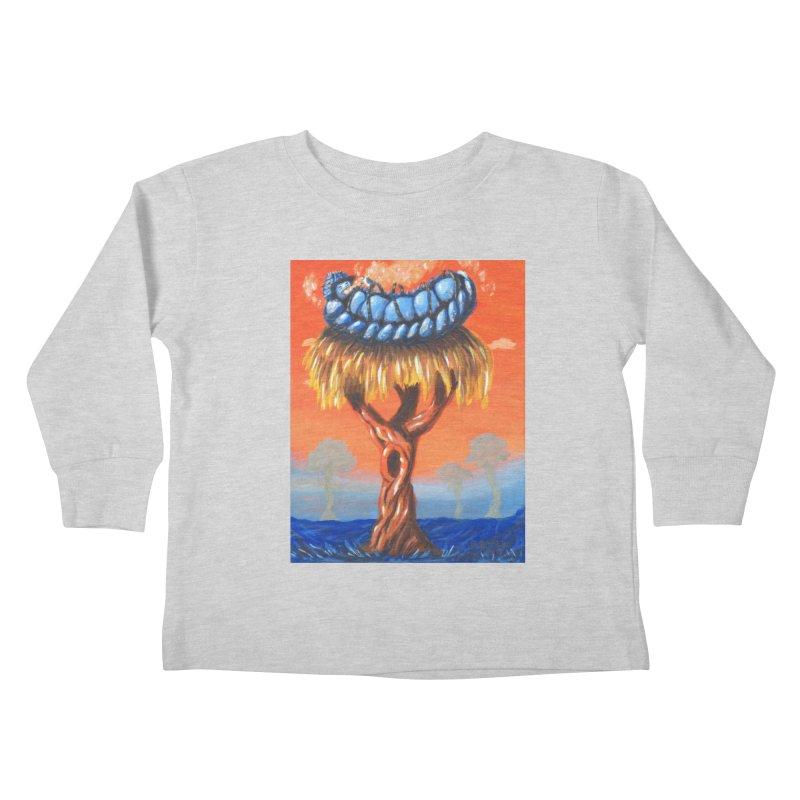 Mr. Caterpillar Kids Toddler Longsleeve T-Shirt by Baked Goods