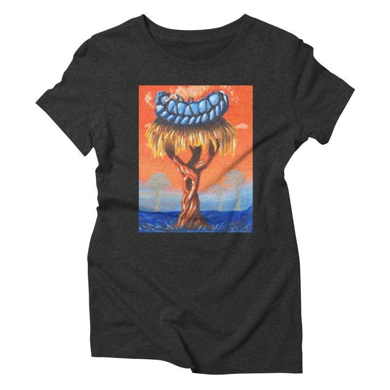 Mr. Caterpillar Women's Triblend T-Shirt by Baked Goods