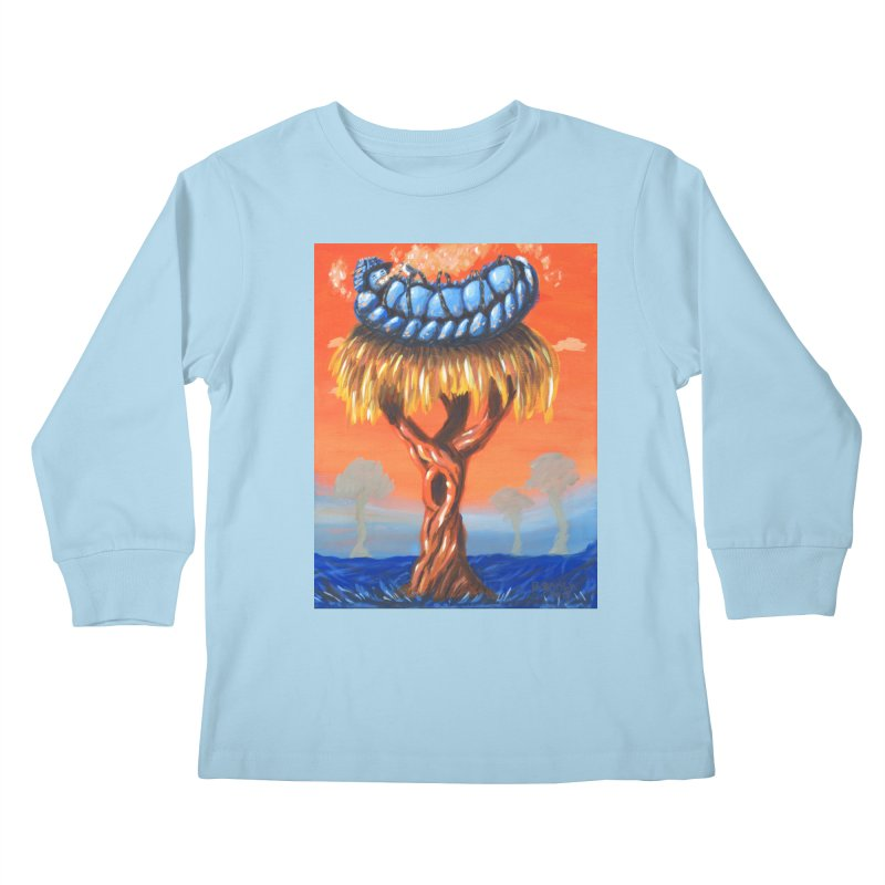 Mr. Caterpillar Kids Longsleeve T-Shirt by Baked Goods