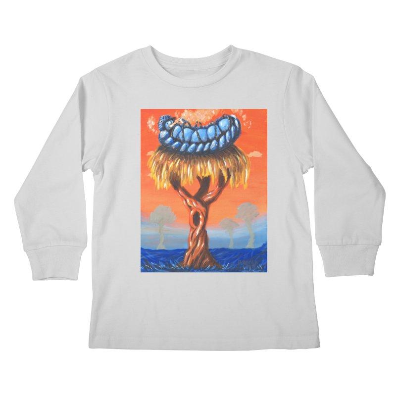 Mr. Caterpillar Kids Longsleeve T-Shirt by Baked Goods