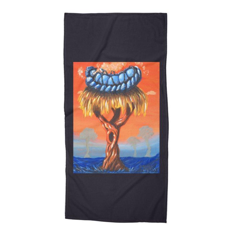 Mr. Caterpillar Accessories Beach Towel by Baked Goods