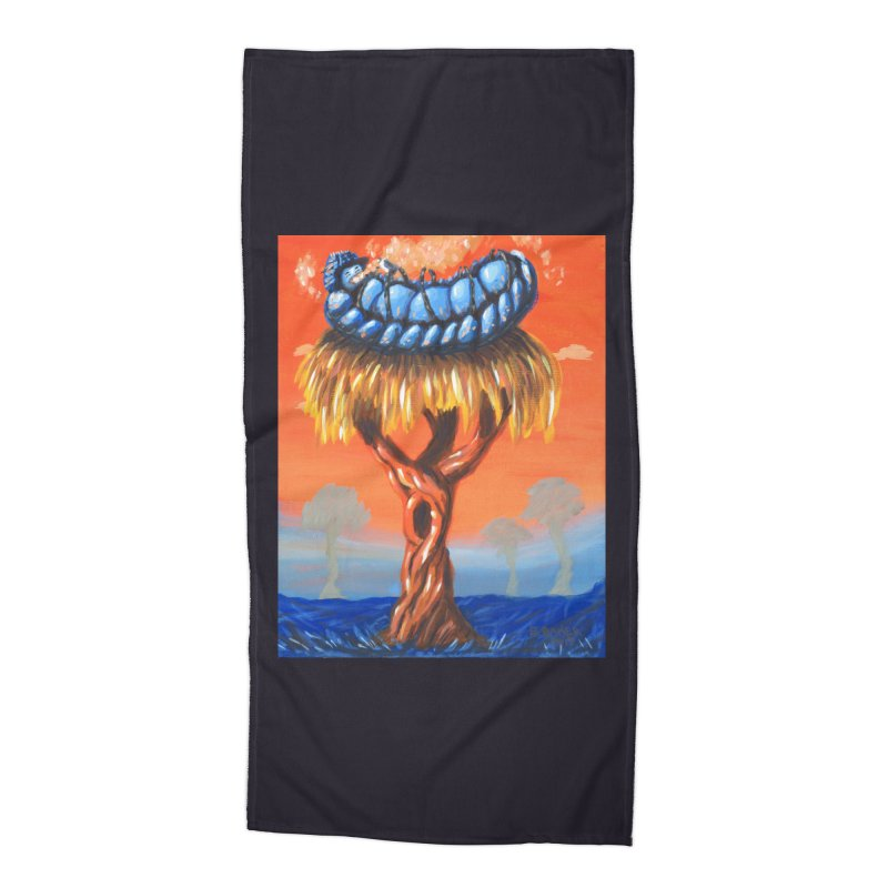 Mr. Caterpillar Accessories Beach Towel by Baked Goods