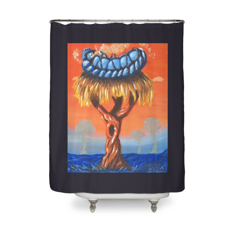 Mr. Caterpillar Home Shower Curtain by Baked Goods