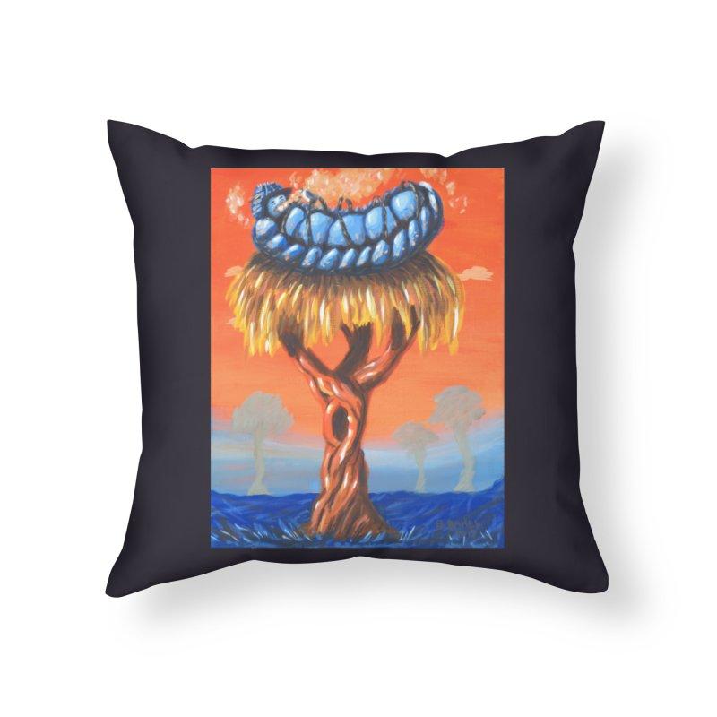 Mr. Caterpillar Home Throw Pillow by Baked Goods