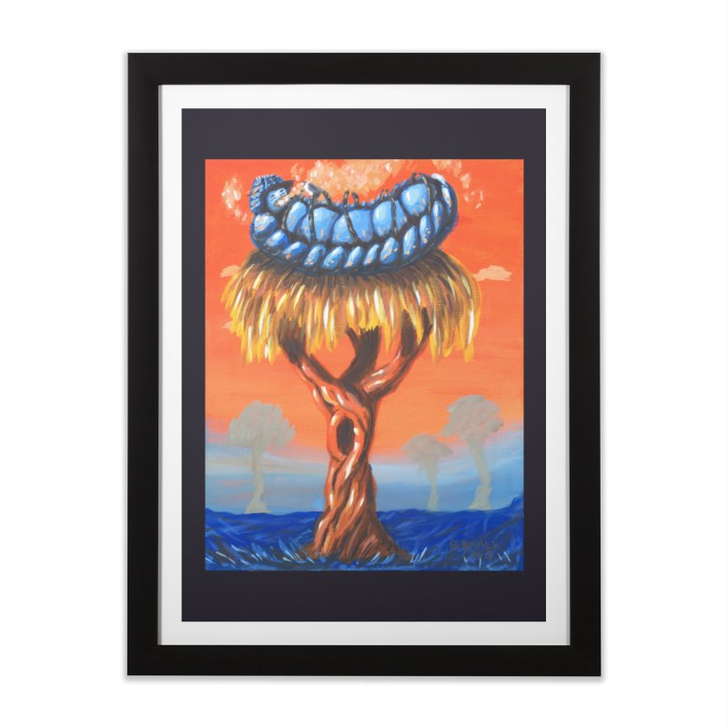 Mr. Caterpillar Home Framed Fine Art Print by Baked Goods