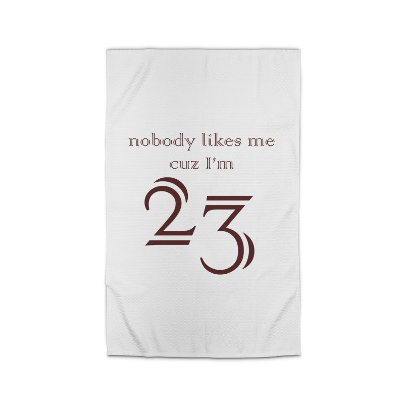 nobody likes me, I'm 23, design 02 Home Rug by Baked Goods
