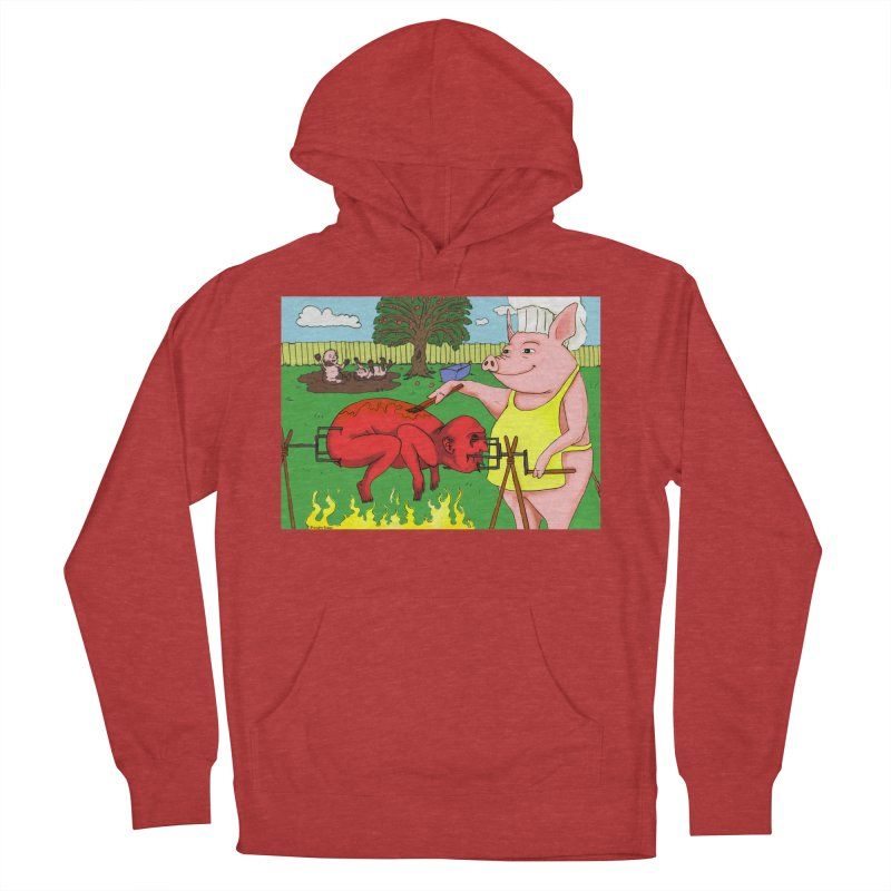 Pig Roast Women's Pullover Hoody by Baked Goods