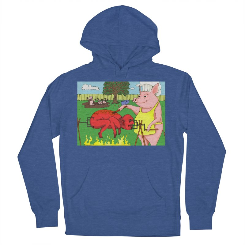 Pig Roast Men's Pullover Hoody by Brandon's Artist Shop