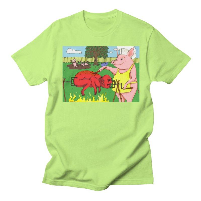 Pig Roast Men's T-shirt by Baked Goods