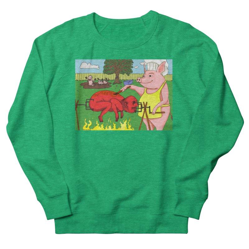 Pig Roast Men's Sweatshirt by Baked Goods