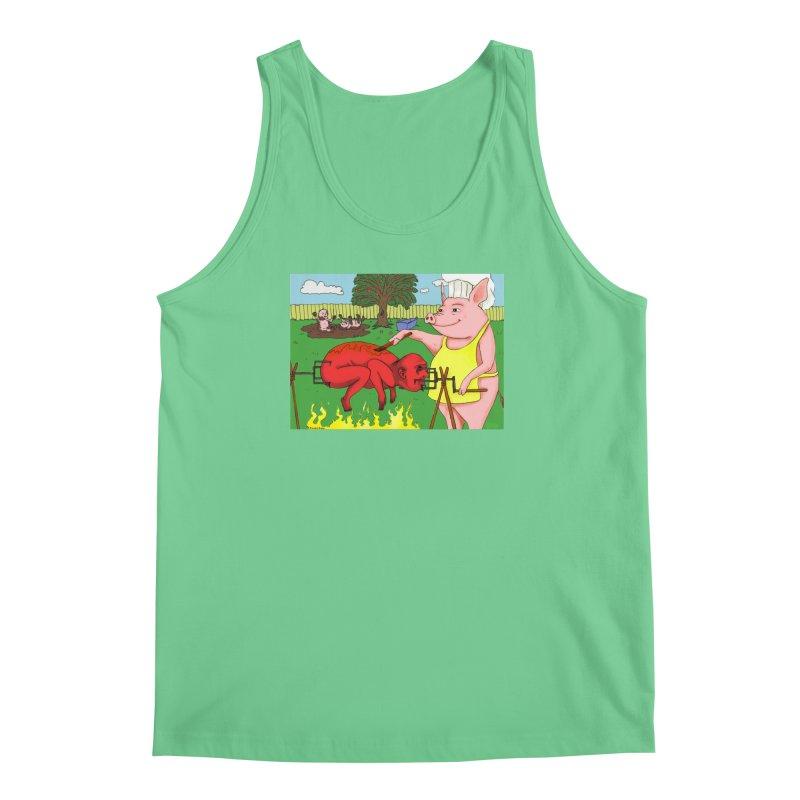 Pig Roast Men's Regular Tank by Baked Goods