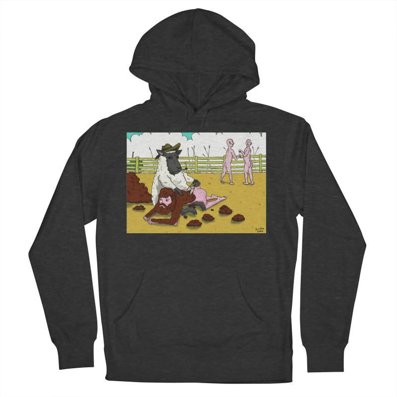 Sheering Sheep Women's French Terry Pullover Hoody by Baked Goods