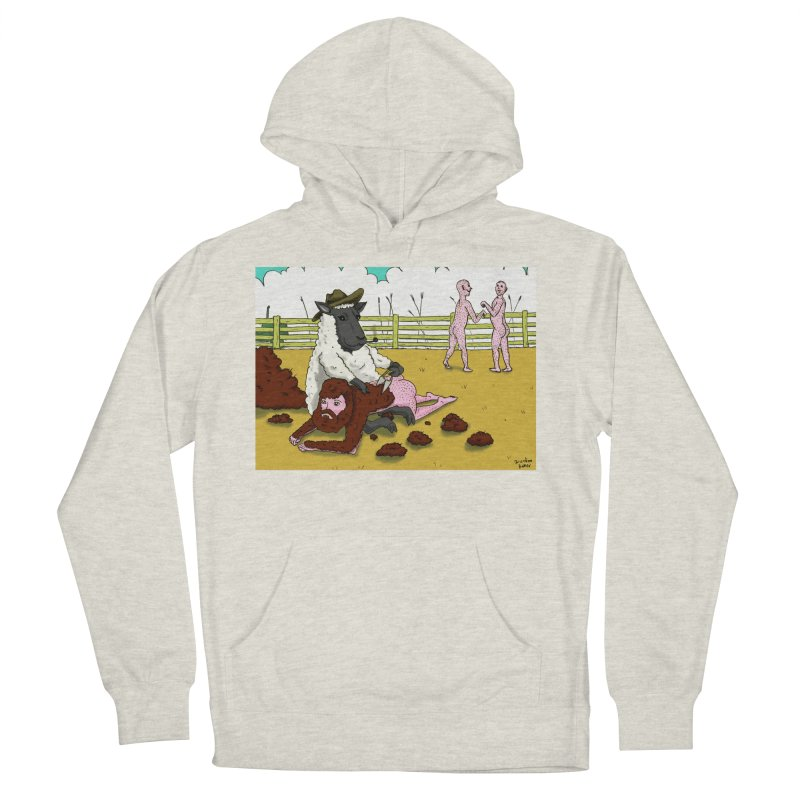Sheering Sheep Men's French Terry Pullover Hoody by Baked Goods