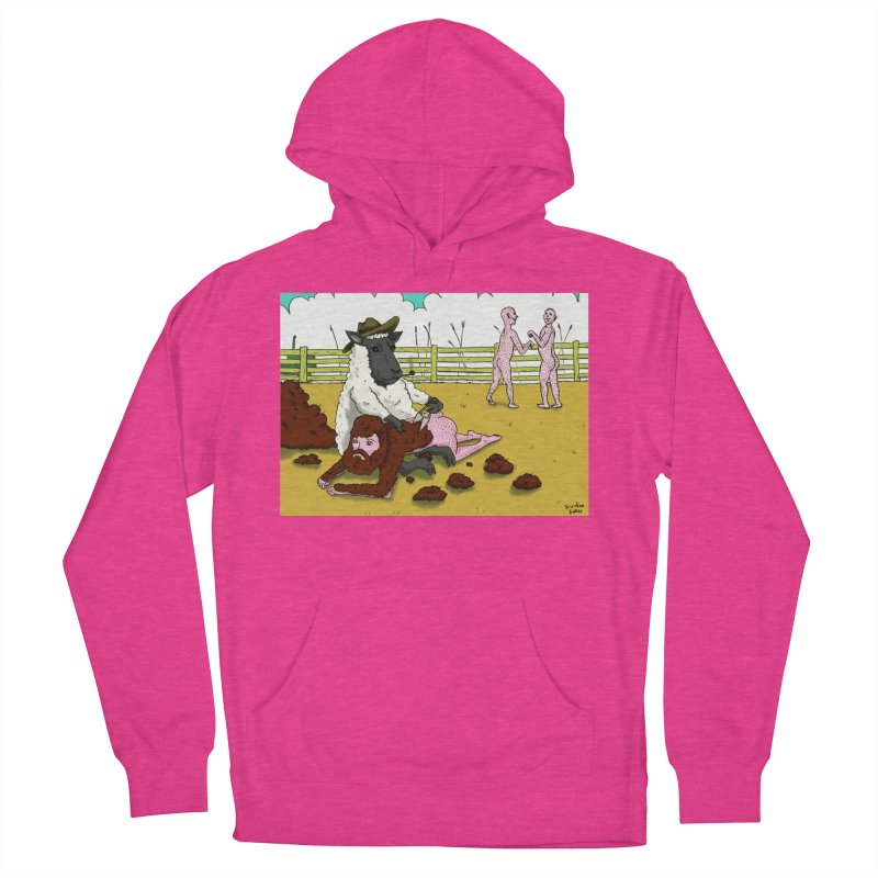 Sheering Sheep Men's Pullover Hoody by Brandon's Artist Shop