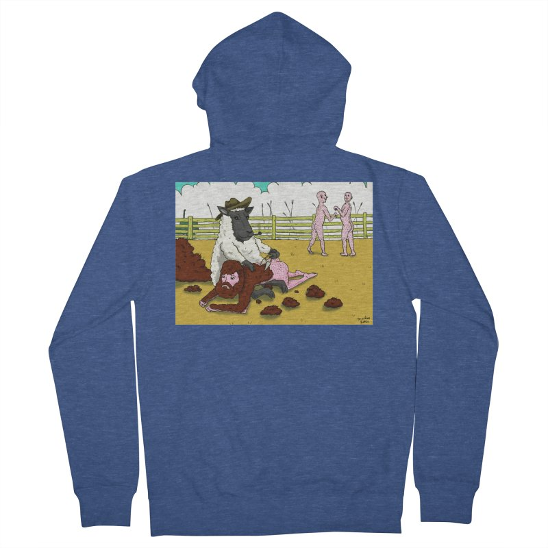 Sheering Sheep Men's Zip-Up Hoody by Baked Goods