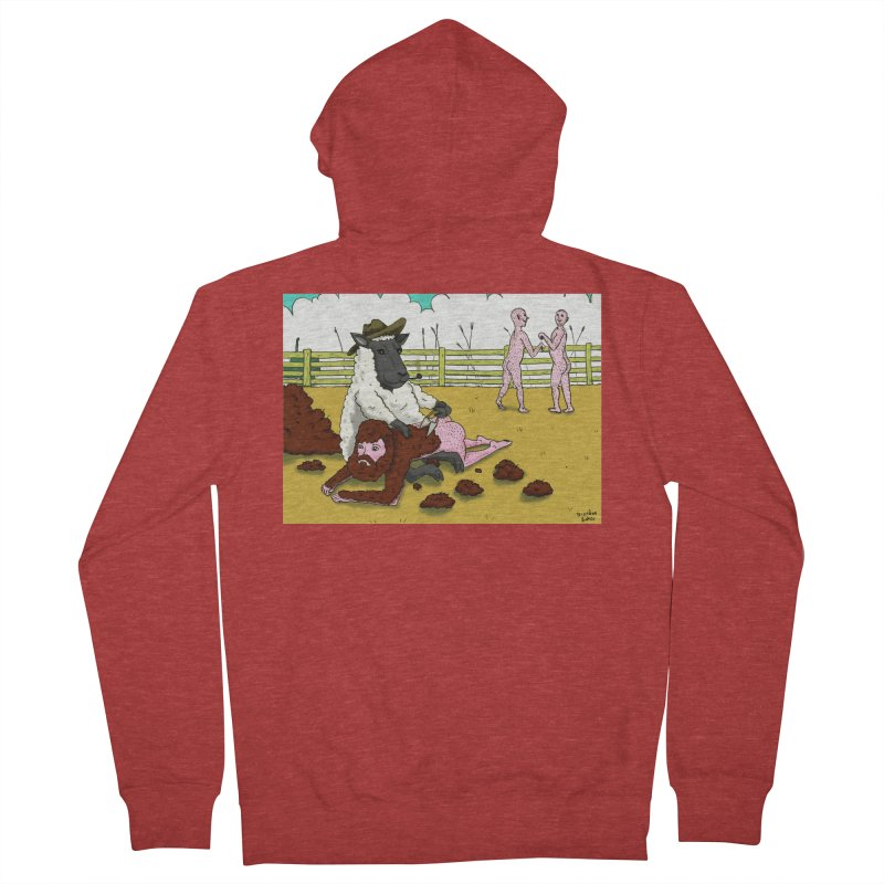 Sheering Sheep Men's French Terry Zip-Up Hoody by Baked Goods