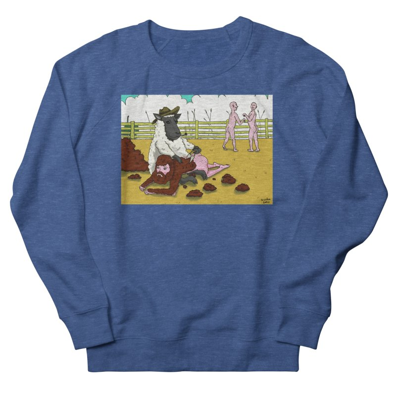 Sheering Sheep Men's French Terry Sweatshirt by Baked Goods