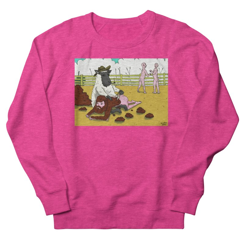 Sheering Sheep Men's Sweatshirt by Brandon's Artist Shop