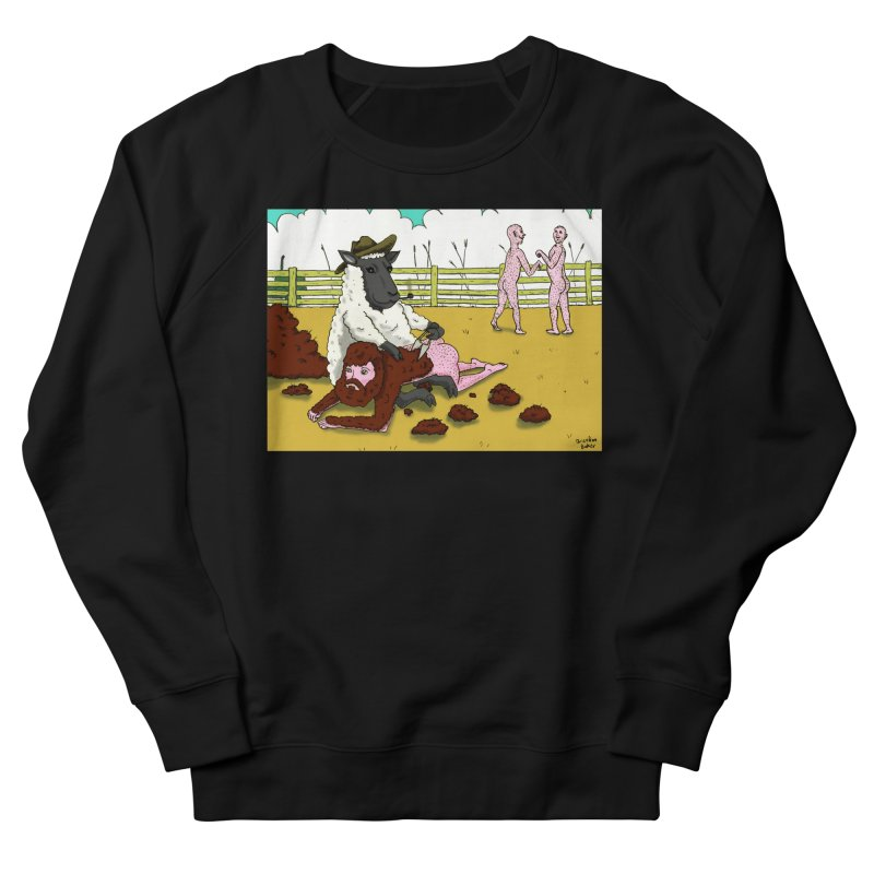 Sheering Sheep Men's Sweatshirt by Baked Goods