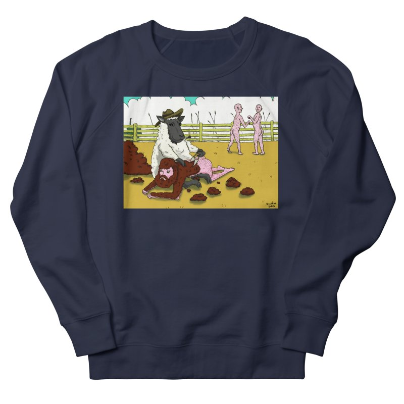 Sheering Sheep Men's Sweatshirt by Baked Goods