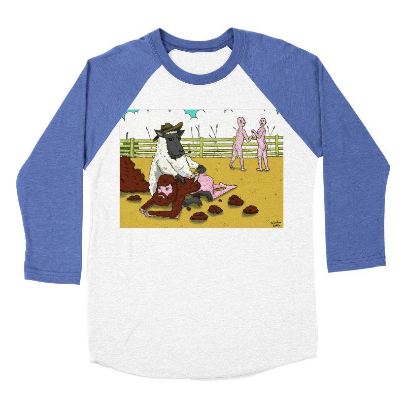 Sheering Sheep Women's Baseball Triblend T-Shirt by Baked Goods